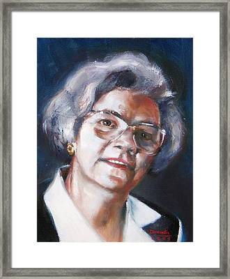 Ruth Bell Framed Print by Gil Conradis