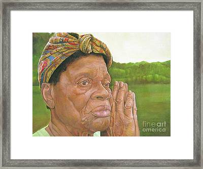Ruth II Framed Print by Curtis James