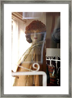 Ruth Of Norfolk Framed Print by Jez C Self
