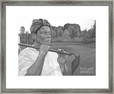 Ruthie II Framed Print