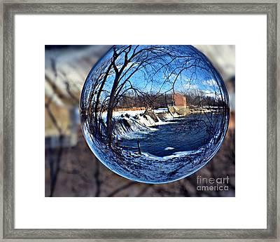 Rutland Dam Two Framed Print