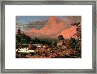 Rutland Falls Vermont Framed Print