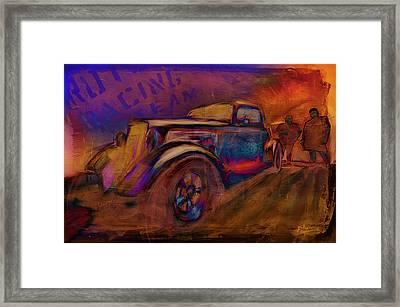 Rutz Racing Framed Print