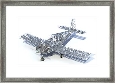 Rv-14a Cutaway Framed Print by Hangar B Productions
