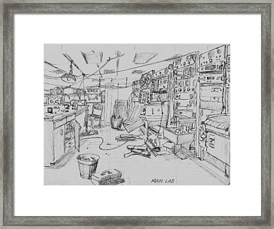 Rv Chain Dry Lab Framed Print