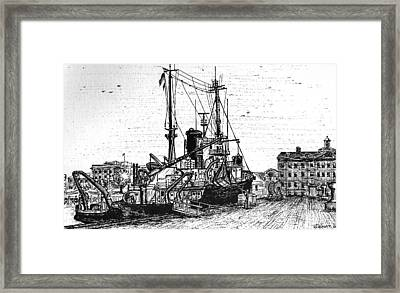 Rv Chain Framed Print