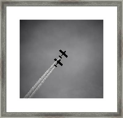 Framed Print featuring the photograph Rv8tors Silhouette Sunderland Air Show 2014 by Scott Lyons