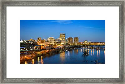 Rva Night Framed Print