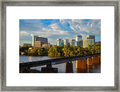 Rva Sunset Framed Print
