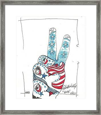 RWB Framed Print