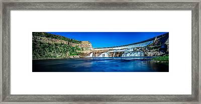 Ryan Dam Framed Print