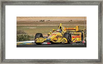 Ryan Hunter-reay Framed Print