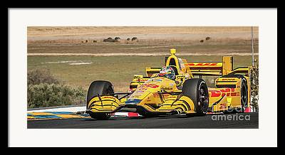 Andretti Autosport Framed Prints