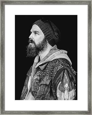Ryan Hurst Framed Print by Stan Antonio