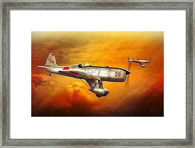 Ryan St-a Captured Imperial Japanese Trainer Framed Print
