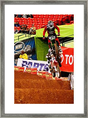 Ryan Villopoto Framed Print by Jason Blalock