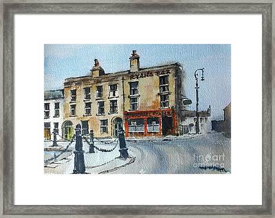 Ryans Bar, Portobello, Dublin Framed Print