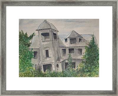 Ryan's Castle Framed Print by Norman F Jackson