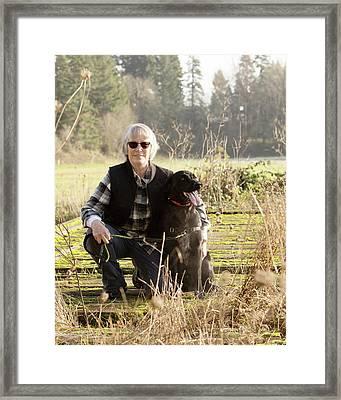 Ryder I Framed Print