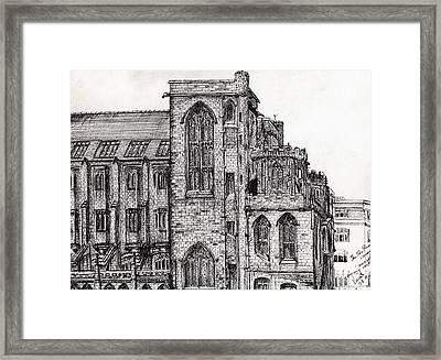 Rylands Library Framed Print by Vincent Alexander Booth