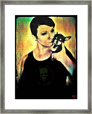 Ryli And Chi-chi 1 Framed Print