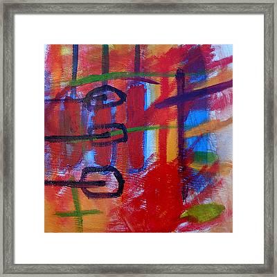 Rythm Of Life Framed Print