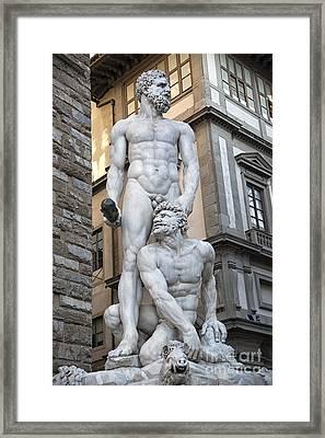 S 43 Hercules, Florence Framed Print by Norberto Torriente