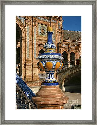 S 44 Alcazar, Seville, Spain  Framed Print by Norberto Torriente