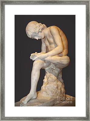 S 49 Spinario Fedolini Framed Print by Norberto Torriente