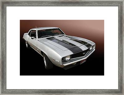 S S Camaro Framed Print by Bill Dutting