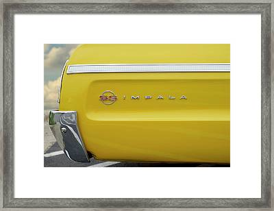 Framed Print featuring the photograph S S Impala by Mike McGlothlen