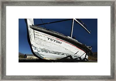 S. S. Tutshi Framed Print