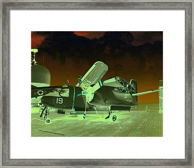 S2 On Deck Framed Print