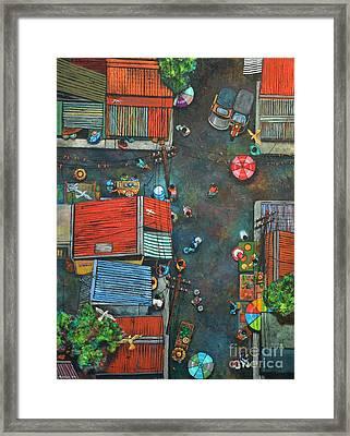 Sa Lumang Palengke Framed Print