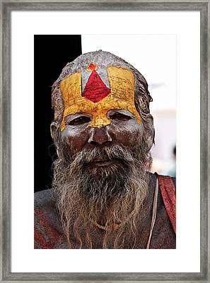 Saadhu/sage Framed Print