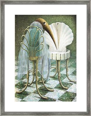 Saba Framed Print by Lolita Bronzini