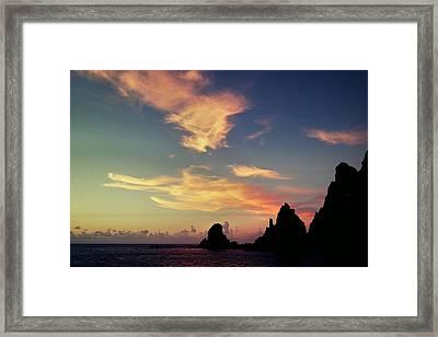 Saba Sunset  Framed Print by Lloyd Southam Sebire
