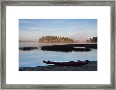 Sabao Morning Framed Print
