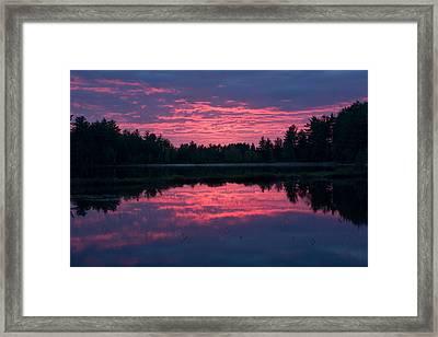 Sabao Sunset 01 Framed Print