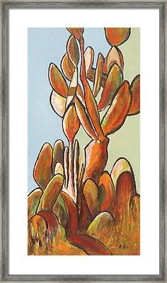 Sabar Cactus Framed Print