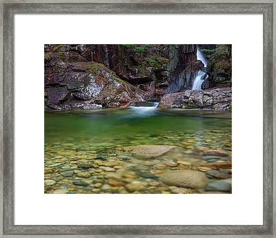 Sabbaday Falls Pool Framed Print by Bill Wakeley
