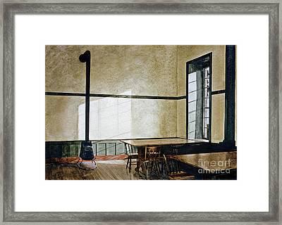 Sabbath Light Framed Print