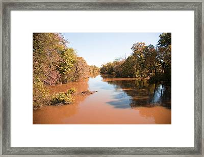 Sabine River Near Big Sandy Texas Photograph Fine Art Print 4084 Framed Print by M K  Miller