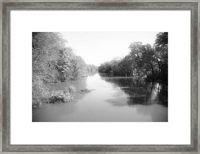 Sabine River Near Big Sandy Texas Photograph Fine Art Print 4085 Framed Print by M K  Miller