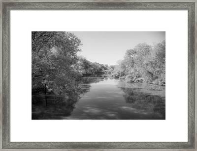 Sabine River Near Big Sandy Texas Photograph Fine Art Print 4088 Framed Print by M K  Miller