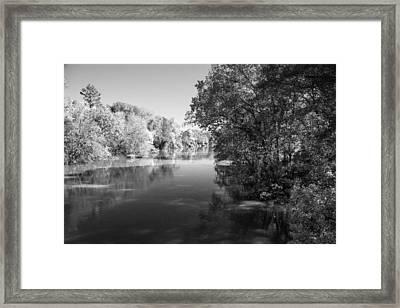 Sabine River Near Big Sandy Texas Photograph Fine Art Print 4091 Framed Print by M K  Miller