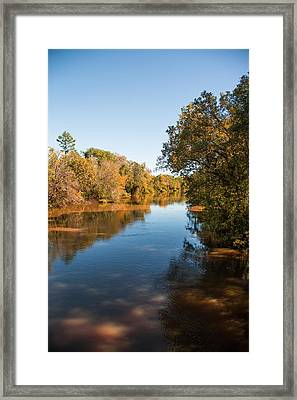 Sabine River Near Big Sandy Texas Photograph Fine Art Print 4093 Framed Print by M K  Miller