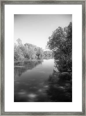 Sabine River Near Big Sandy Texas Photograph Fine Art Print 4094 Framed Print by M K  Miller
