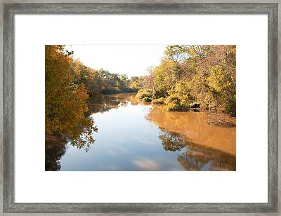Sabine River Near Big Sandy Texas Photograph Fine Art Print 4106 Framed Print by M K  Miller