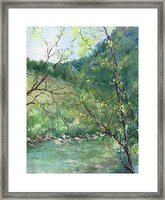Sabino Canyon Framed Print by Robin Miller-Bookhout